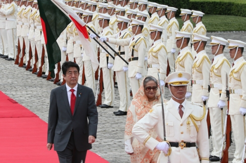 Sheikh Hasina IN JAPAN