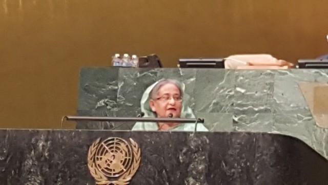 Sheikh Hasina UN Sdg summit 2015