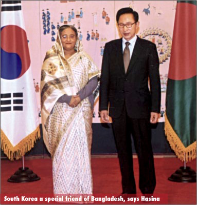 South Korea a special friend of Bangladesh, says Hasina