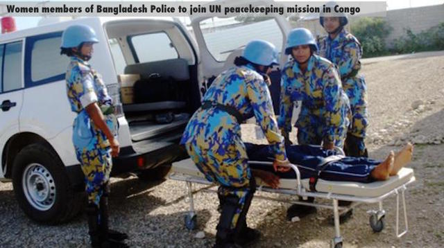 Women members of Bangladesh Police to join UN peacekeeping mission in Congo
