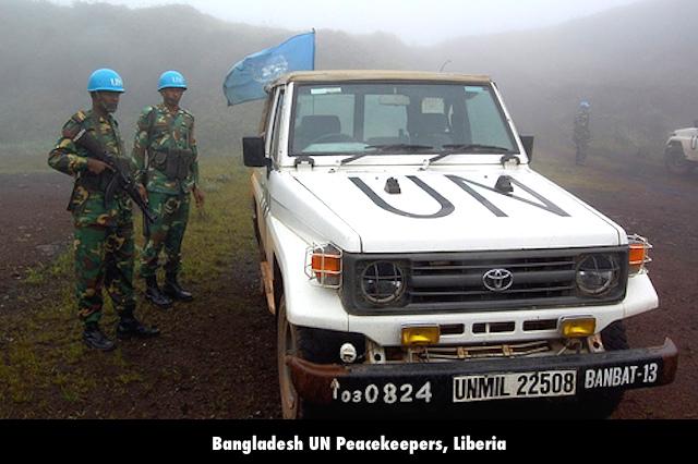 Bangladesh UN Peacekeepers, Liberia