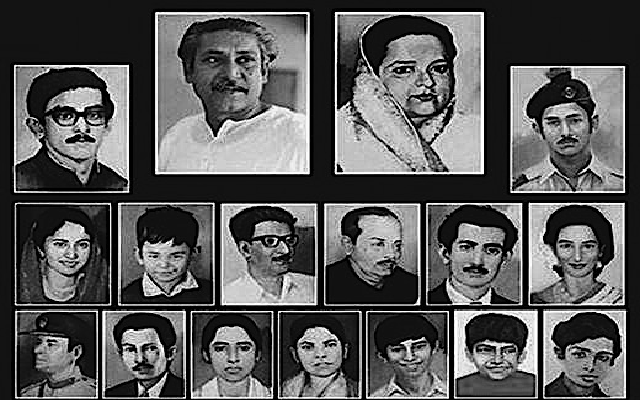 Bangabandhu-his-family-members