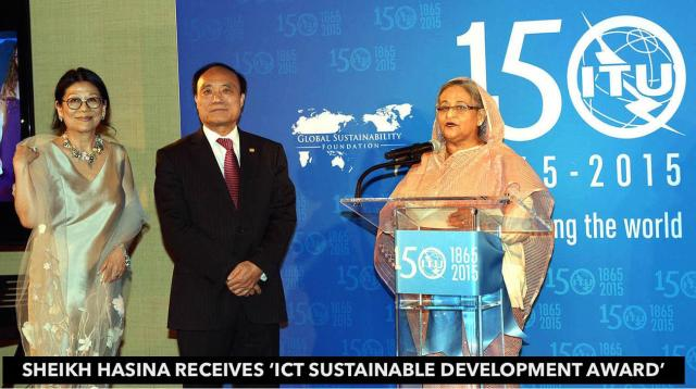 hasina-receives-ict-sustainable-development-award