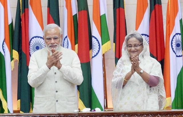indian-prime-minister-narendra-modi-greeted-prime-minister-sheikh-hasina